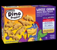 Yummy Whole Grain  Chicken Breast Dinosaur-Shaped