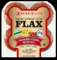 Flax 4 Life Cranberry & Orange Gluten-Free Flax Muffins