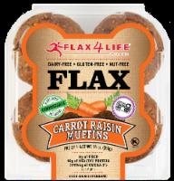 Flax 4 Life Carrot & Raisin Muffins