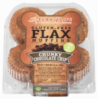 Flax 4 Life Gluten Free Chunky Chocolate Chip Muffins