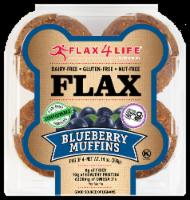 Flax 4 Life Wild Blueberry Muffins - Gluten Free