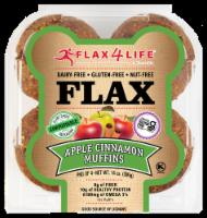 Flax 4 Life Apple Cinnamon Gluten-Free Flax Muffins