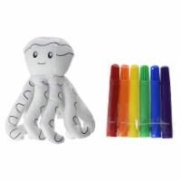 Ganz Octopus 6 Inch Plush Mini Coloring Kit - 1 Unit