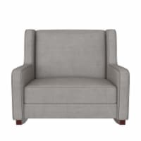 Baby Relax Hadley Double Rocker Chair, Baby Nursery Furniture, Taupe - 36.50 x 40.50 x 36.50