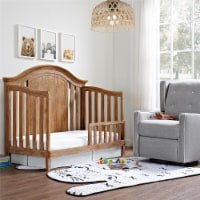 Baby Relax Macy Toddler Rail, Natural rustic - 13.00 x 54.25 x 8.00