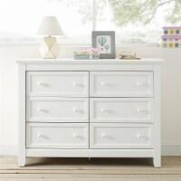Baby Relax Tia 6-Drawer Dresser, Bedroom & Nursery Furniture, White