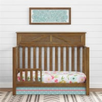 Baby Relax Hathaway Toddler Rail, Rustic Coffee