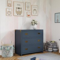 Baby Relax Miles 3-Drawer Dresser - 18.50 x 35.50 x 33.00