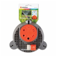Gardena Boogie Plastic Non-tipping Base Stationary Sprinkler 625 sq. ft. - Case Of: 1; - Count of: 1