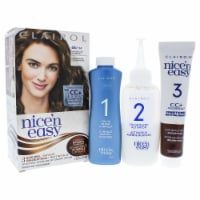 Clairol Nice n Easy Permanent Color  6A 114 Light Ash Brown Hair Color 1 Application - 1 Application