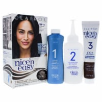 Clairol Nice n Easy Permanent Color  2BB 124 Natural Blue Black Hair Color 1 Application