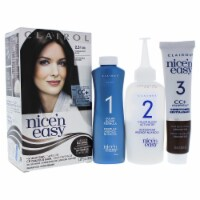 Clairol Nice n Easy Permanent Color  25 123 Natural Soft Black Hair Color 1 Application
