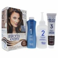 Clairol Nice n Easy Permanent Color  5W 118B Natural Medium Caramel Brown Hair Color 1 Applic - 1 Application