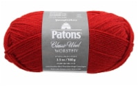 Patons Classic Wool Yarn-Bright Red - 1