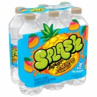 Nestle Splash Natural Pineapple Mango Flavored Water Beverage - 6 ct