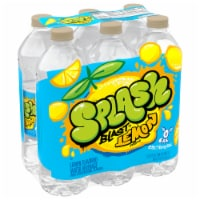 Nestle Splash Natural Lemon Flavored Water