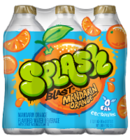 Nestle Splash Mandarin Orange Flavored Enhanced Water