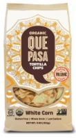 Que Pasa Organic White Corn Tortilla Chips