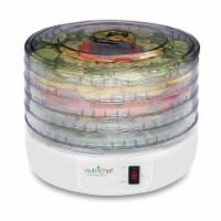 NEW Nutrichef PKFD12 Electric Countertop Food Jerky Dehydrator Preserver Maker - 1 Unit