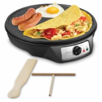 NutriChef PCRM12 Electric Griddle and Crepe Maker