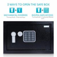 Fireproof Electronic Safe Box (9 Inch) - 1