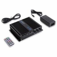 Pyle 6 Channel 600 Watt Marine Amp Amplifier Bluetooth Receiver Sound System - 1 Piece