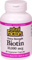 Natural Factors Extra Strength Biotin Vegetarian Capsules 10000 mcg