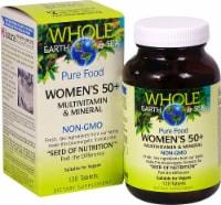 Natural Factors Whole Earth & Sea Women's 50+ Multivitamin & Mineral Tablets