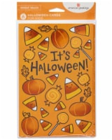 American Greetings Halloween Cards, 6-Count (Candy Corn) - 1 ct