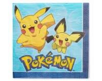 American Greetings Pokemon Disposable Paper Lunch Napkins - 48 ct