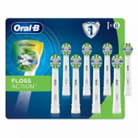 Oral-B FlossAction Replacement Electric Toothbrush Head (8 Count) - 1 unit