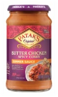 Patak's Butter Chicken Spicy Curry Hot Simmer Sauce