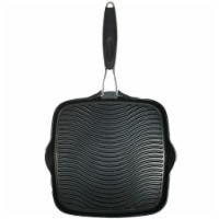 Starfrit 10 x 10 in. Grill Pan with Foldable Handle