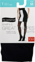 No Nonsense Great Shapes Women's Opaque Tights - Black