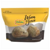 Rhodes Warm-N-Serv French Crusty Par-Baked Rolls