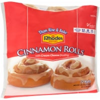 Rhodes Bake 'N Serv Cinnamon Rolls with Cream Cheese Frosting 12 Count