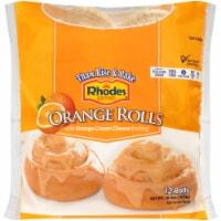 Rhodes Orange Rolls With Icing
