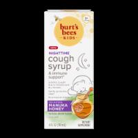 Burt's Bees™ Kids Nighttime Grape Manuka Honey Cough Syrup - 4 fl oz