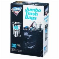 Berry Plastics 1124922 45 gal Ruffies Trash Bag, 30 Count - 30