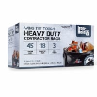 Iron-Hold 45 gal. Contractor Bags Wing Ties 18 pk