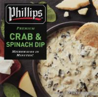 Phillips Premium Crab & Spinach Dip - 8.25 oz