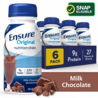 Ensure Original Milk Chocolate Ready-to-Drink Nutrition Shakes