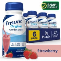 Ensure Original Strawberry Ready-to-Drink Nutrition Shakes