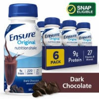 Ensure Original Dark Chocolate Ready-to-Drink Nutrition Shakes