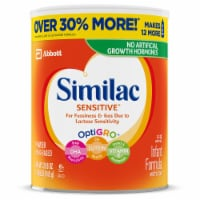 Similac Sensitive For Fussiness and Gas Powder Infant Formula with Iron