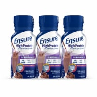 Ensure High Protein Milk Chocolate Ready-to-Drink Nutrition Shakes