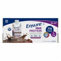 Ensure Max Protein Milk Chocolate Nutrition Shake 12 Bottles
