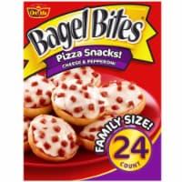 Bagel Bites® Cheese & Pepperoni Pizza Snacks - 24 ct / 18.6 oz