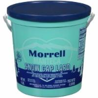 Morrell Manteca Snow Cap Lard - 4 lb