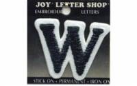 Joy Applique Letter Iron On Cooper 1.5  Black W - 1